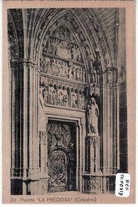 POSTAL-PAMPLONA-Catedral-Puerta-La-Preciosa-Ref-TC00213