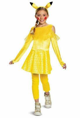 Baby Pikachu Halloween Costumes (Pokemon Pikachu Girl Costume S L Child Dress Up Halloween)