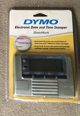 Dymo Datemark Stamp 47002 Electronic Date Time New Factory Sealed