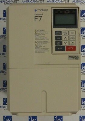 Yaskawa Cimr-f7u4011 3ph 480v 15 Hp Variable Frequency Drive - Used