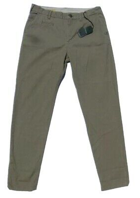 G-Star Raw Men Chino Pants Size 33x32 Troupman Tapered Khaki