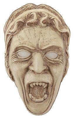 Doctor Who Licensed Weeping Angel Vacuform Frontal Face Mask](Doctor Who Weeping Angel Mask)