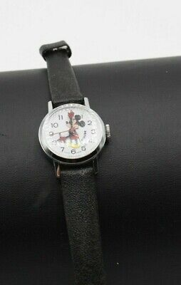 VINTAGE MICKEY MOUSE MECHANICAL WATCH by BRADLEY SWISS MADE