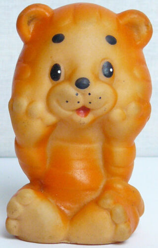 Vintage Original Soviet Russian Rubber Lion Kid Toy Doll  USSR