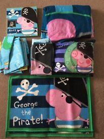 Peppa Pig 'George the Pirate' bedroom set