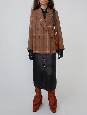 ACNE STUDIOS Herringbone Check Jacket Size 36 Orig. $800 NWT