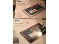 2 Samsung galaxy tab 2 tablets