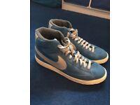 Nike Blazer Classic Suede Trainers UK Size 10 LIKE NEW