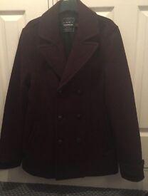 Topman coat size medium