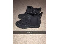 Girls boots from next f&f all size 10