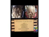 Mobile Hairdresser available evenings & weekends