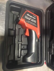 Snap-On infrared laser thermometer
