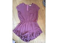 Brand new asos Frilly Playsuit size small