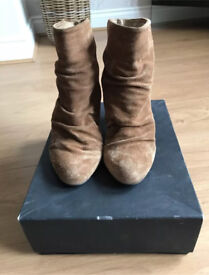 KG taupe suede boots UK 5