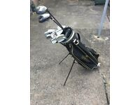 Howson Golf Club Bag with Mixed Golf Club Set