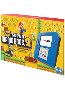 Nintendo 2DS Mario Bros 2 pack with 7 additional games