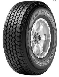 Qty 4 - 2018 GOODYEAR WRANGLER® AT WITH KEVLAR® 275/65 R18 Tires