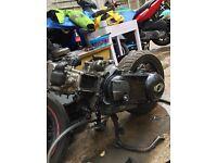 Gilera Vespa X9 250 engine
