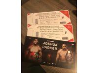 Joshua vs Parker Boxing Cardiff