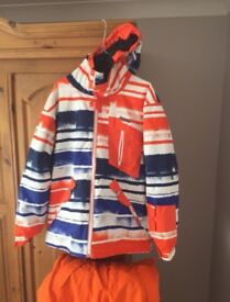 Ski coat and matching trousers (large)