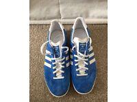 Adidas Gazelle blue trainers
