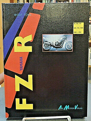 Yamaha FZR FZ YZF 600 750 1000 1985-1994 German Text Motorcycle History Tons for sale  Shipping to India