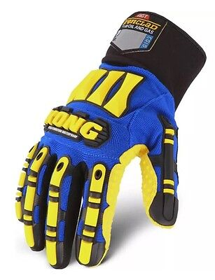 Ironclad Kong Waterproof Impact Protection Cold Winter Work Gloves Size Xxl