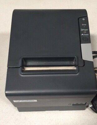 Usado, EPSON TM-T88V POS RECEIPT PRINTER POWERED USB INTERFACE WITH CABLE segunda mano  Embacar hacia Mexico