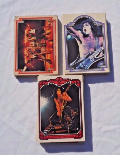 Kiss 1978 Donruss Collector Trading Cards Complete Set # 1-66 40 Yrs Old Great