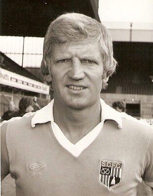 Original Press Photo Stoke City FC Alan Durban (Manager) August 1980