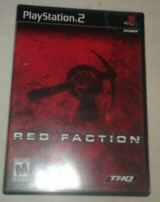 Red Faction (Sony PlayStation 2, 2002) Complete With Manual CIB PS2  for sale  Shipping to Nigeria
