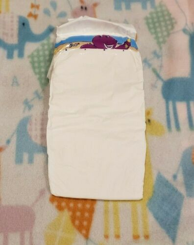 1 Vintage Luvs Diaper Plastic  size 6
