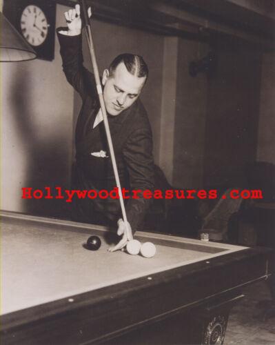Willie Hoppe~Playing Pool~Pool Hall~Billiards~Shooting Pool~#2~16x20 Photo