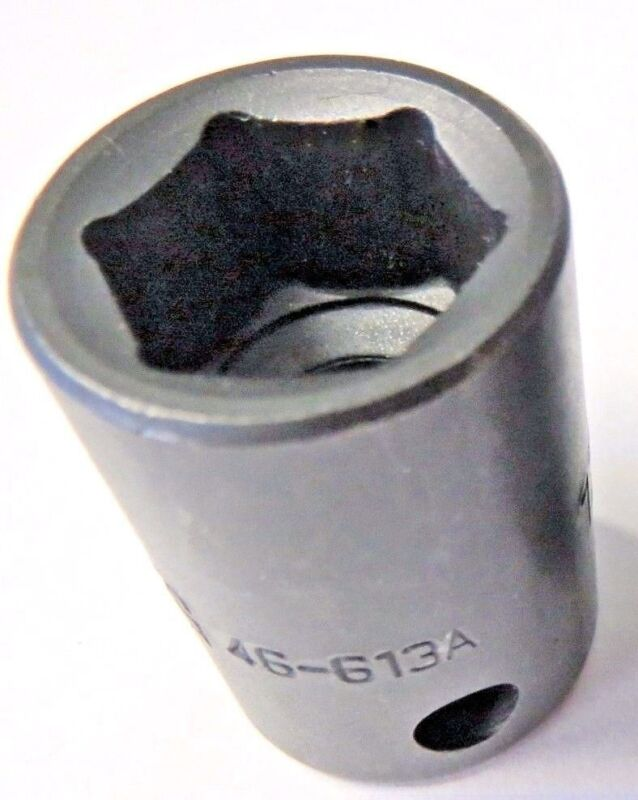 """Armstrong 19-414 3//8/"""" Drive 8 Point 7//16/"""" Impact Socket USA"""
