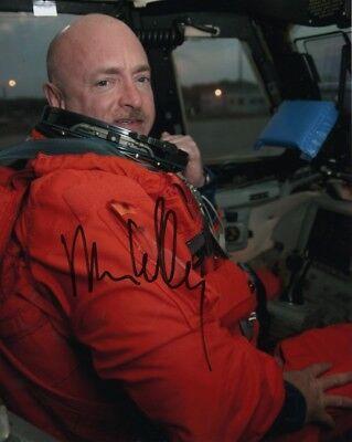 MARK KELLY signed autographed NASA ASTRONAUT photo