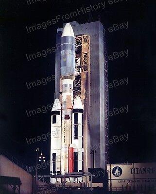 8x10 Print NASA Titan Rocket Pre-Launch Delivers Viking to Mars #VIK