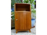Bedside Cabinet: Retro/Vintage Mid Century: Walnut