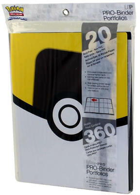 Ultra Pro Pokemon Ultra Ball 9-Pocket Pro Binder BRAND NEW IN STOCK!