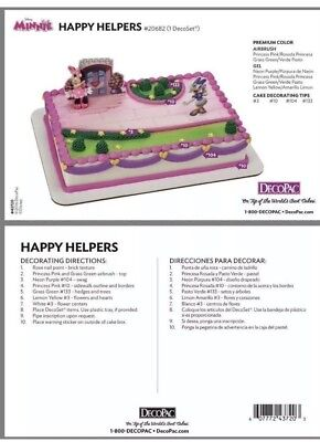 Decopac Cake Topper Minion Mickey Minnie Roadster Car Decorations](Mickey Cake Topper)