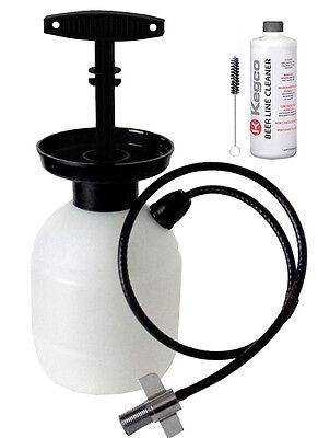 Kegco KC PCK32 Deluxe Hand Pump Pressurized Keg Beer Cleanin