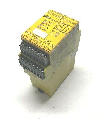Pilz Pnoz X8p 24 Vdc 3no 2nc 2so Safety Relay Module 24vdc 25w