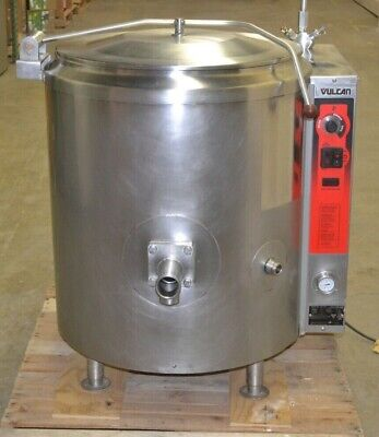 Vulcan 40-gallon Soup Steam-jacketed Kettle K40gl Nat. Gas Tested 2015