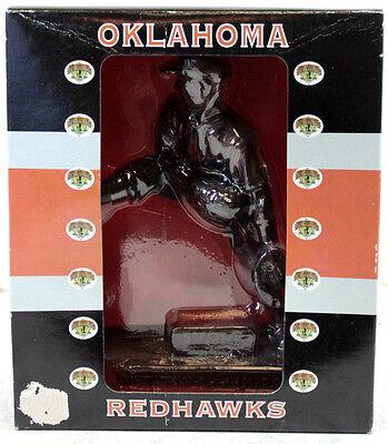 Oklahoma Redhawks Warren Spahn York Cast Resin Figurine Alexander Global Promo