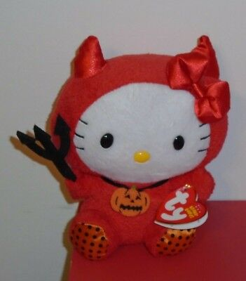 NMT* Ty Beanie Baby ~ HELLO KITTY in RED DEVIL COSTUME (5.5 Inch) MWNMT](Devil Babies)