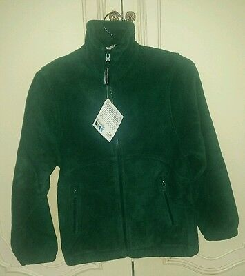 New Premium Quality Snowgoose Kids Green Fleece Jacket Coat Blazer Size 7-8 Yr - Kids Green Blazer