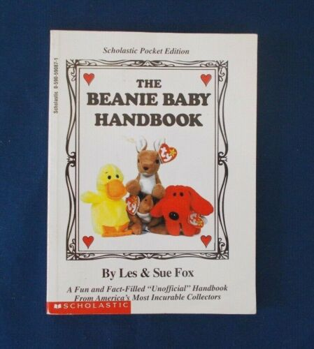 The Beanie Baby Handbook 1997 Scholastic Pocket Edition 128 Pages Les & Sue Fox
