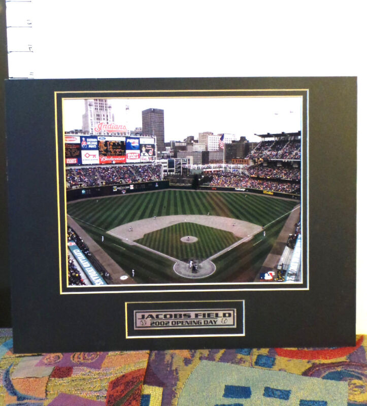 Artwork Unframed, Color Photo,Cleveland,OH- Jacobs Field,  Opening Day 2002