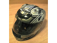 Nitro full face racing helmet size M