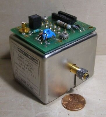 Hp Oscillator Model 5086-7331 ... 3.8-6.2 Ghz ...