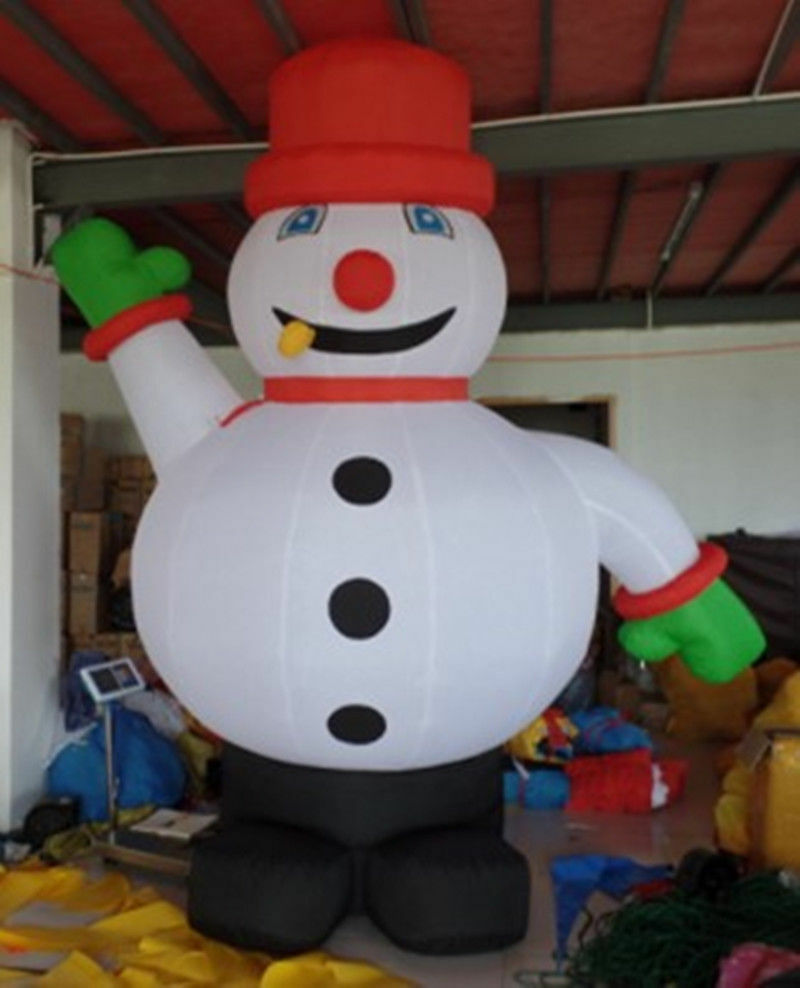 3m Outdoor Christmas Inflatable Snowman For Christmas Decoration Hot Sell